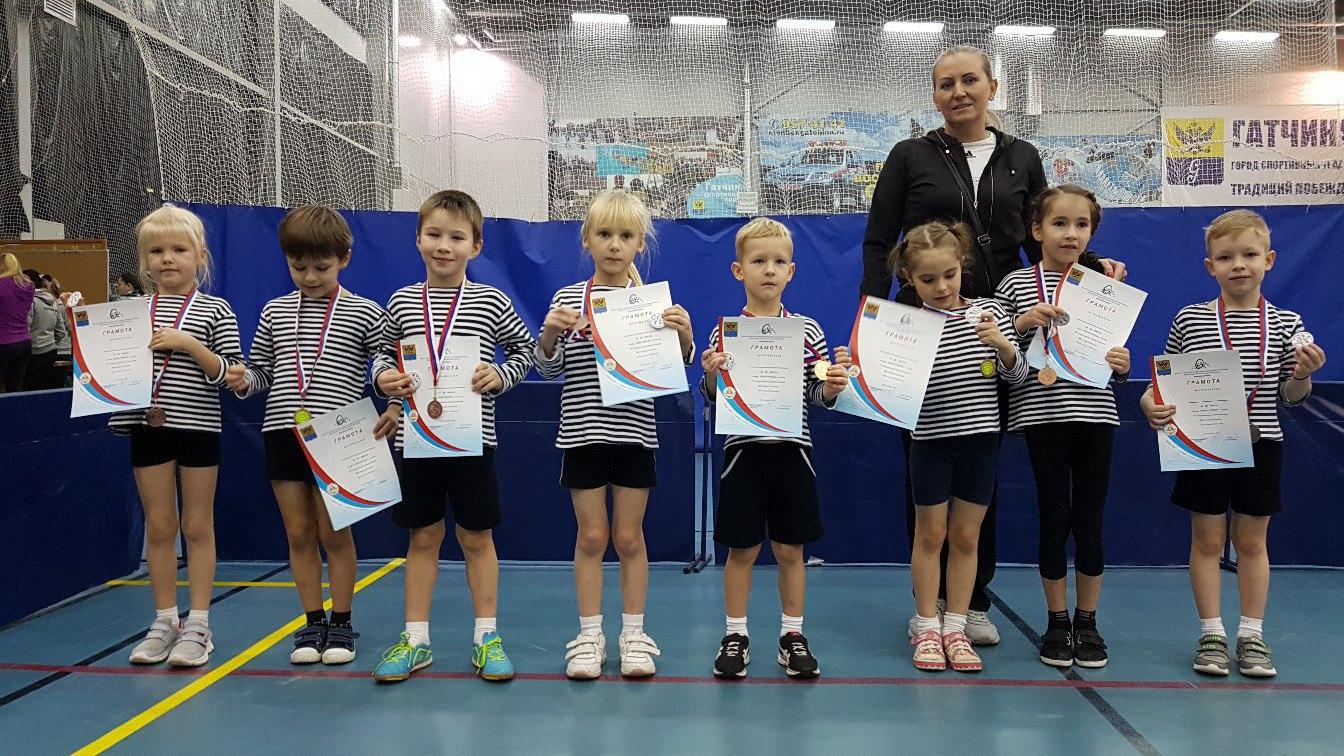 Команда детей подготовительных групп заняла 3 место